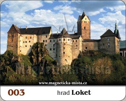 Magnetka - Hrad Loket