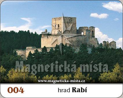 Magnetka - Hrad Rabí