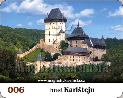 Magnetka - Hrad Karlštejn