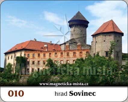 Magnetka - Hrad Sovinec