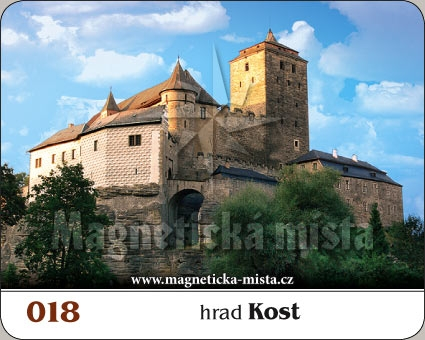 Magnetka - Hrad Kost
