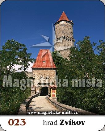 Magnetka - Hrad Zvíkov