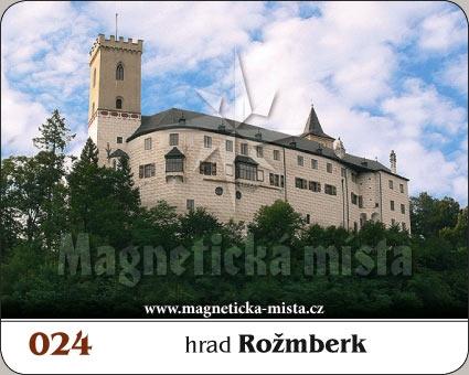 Magnetka - Hrad Rožmberk