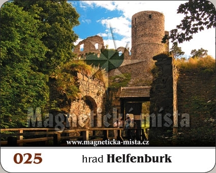 Magnetka - hrad Helfenburk