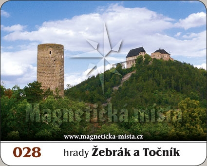 Magnetka - Hrady Žebrák a Točník