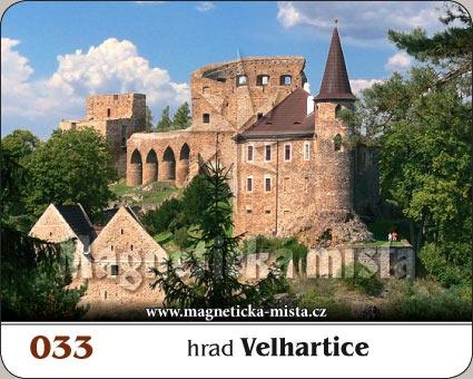 Magnetka - Hrad Velhartice
