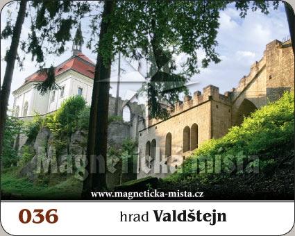 Magnetka - Hrad Valdštejn
