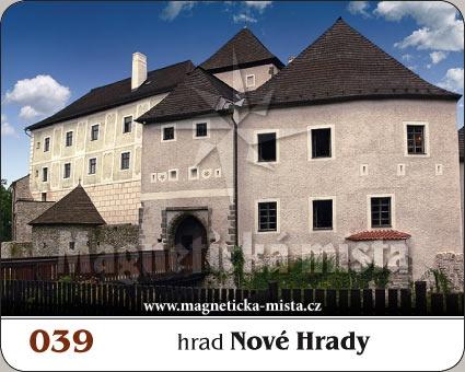 Magnetka - Hrad Nové Hrady