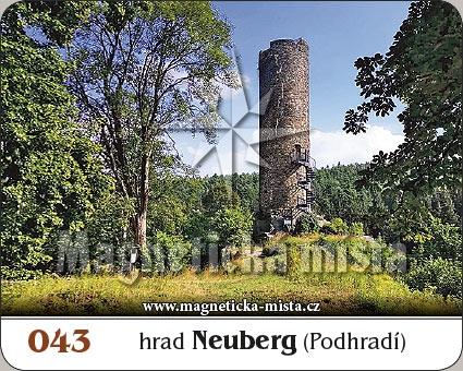 Magnetka - Hrad Neuberg (Podhradí)
