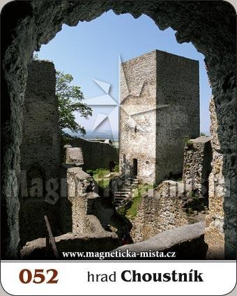 Magnetka - Hrad Choustník