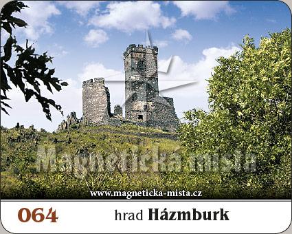 Magnetka - Hrad Hazmburk