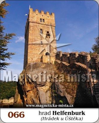 Magnetka - Hrad Helfenburk (Hrádek u Úštěka)