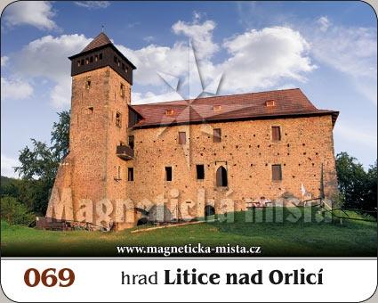 Magnetka - Hrad Litice nad Orlicí