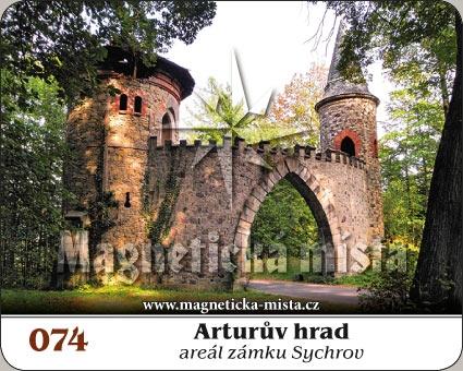 Magnetka - Arturův hrad