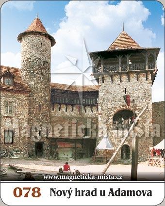 Magnetka - Nový hrad u Adamova