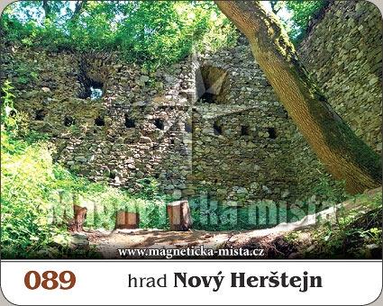 Magnetka - Hrad Nový Herštejn