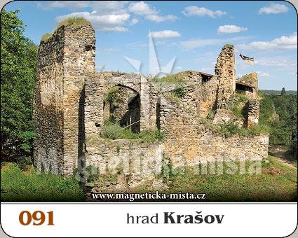 Magnetka - Hrad Krašov