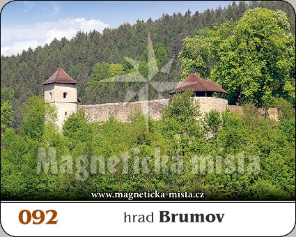Magnetka - Hrad Brumov