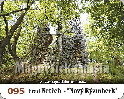 Magnetka - Hrad Netřeb - 'Nový Rýzmberk'