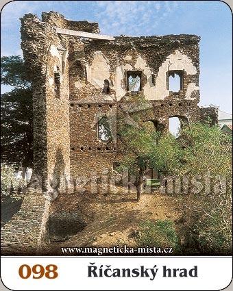 Magnetka - Říčanský hrad
