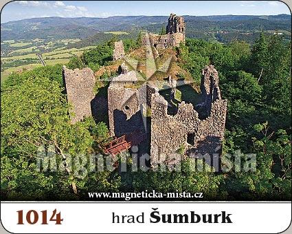 Magnetka - hrad Šumburk