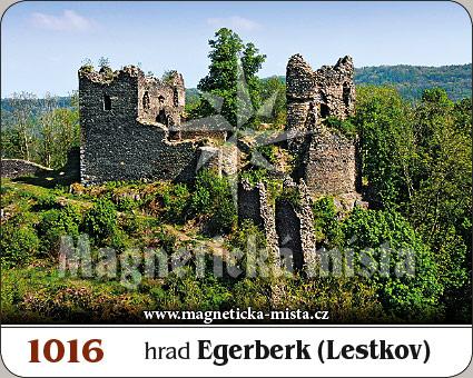 Magnetka - Hrad Egerberk (Lestkov)