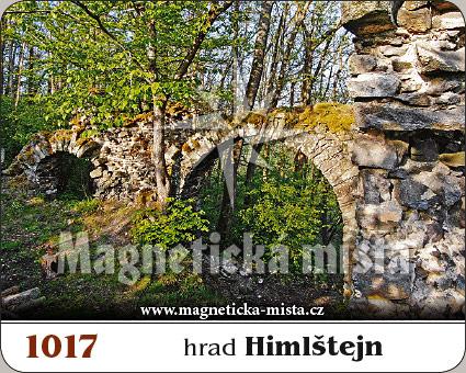 Magnetka - Hrad Himlštejn