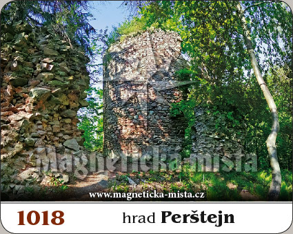 Magnetka - Hrad Perštejn