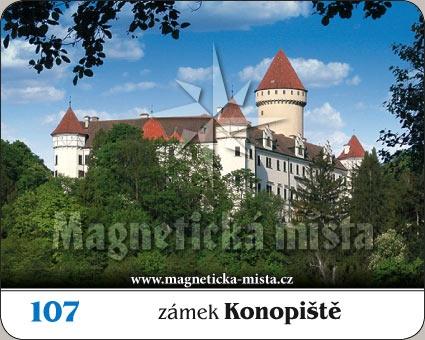Magnetka - Zámek Konopiště