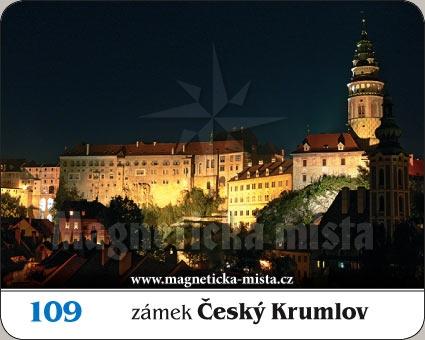 Magnetka - Zámek Český Krumlov