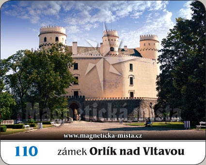 Magnetka - Zámek Orlík nad Vltavou