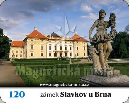 Magnetka - Zámek Slavkov u Brna (Austerlitz)