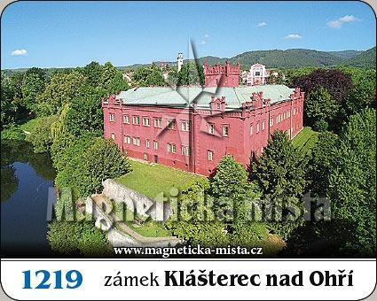Magnetka - Zámek Klášterec nad Ohří