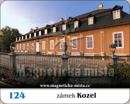 Magnetka - Zámek Kozel
