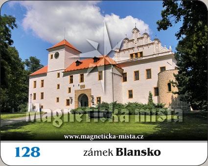 Magnetka - Zámek Blansko