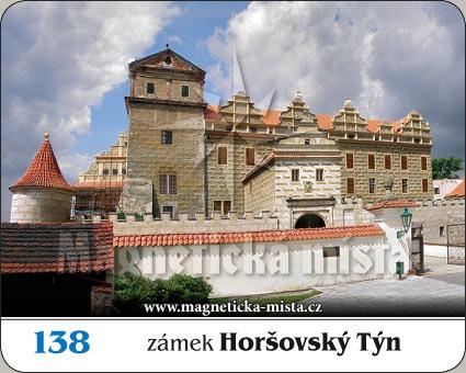 Magnetka - Zámek Horšovský Týn