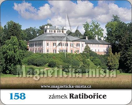 Magnetka - Zámek Ratibořice