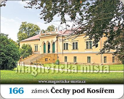 Magnetka - Zámek Čechy pod Kosířem