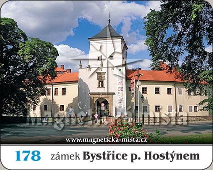Magnetka - Zámek Bystřice pod Hostýnem
