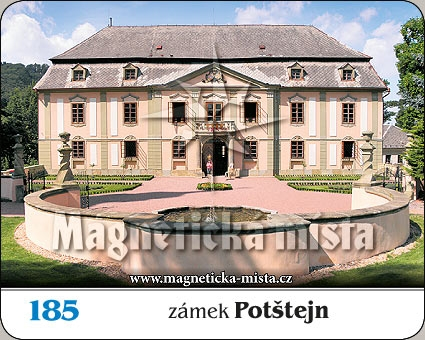 Magnetka - Zámek Potštejn
