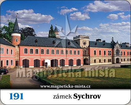 Magnetka - Zámek Sychrov