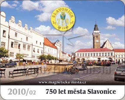 Magnetka - 750 let města Slavonice