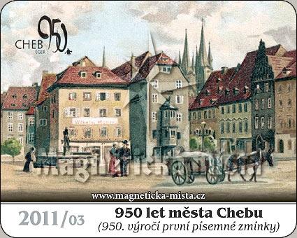 Magnetka - 950 let města Chebu