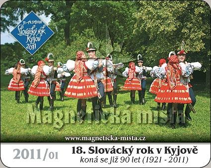 Magnetka - 18. Slovácký rok v Kyjově