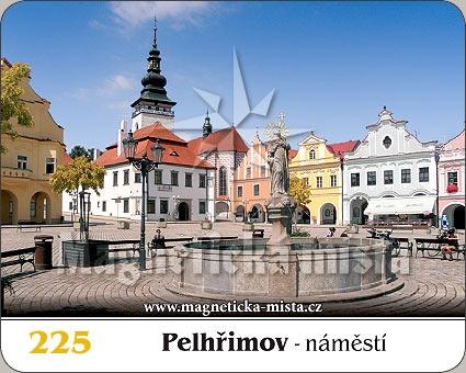 Magnetka - Město Pelhřimov