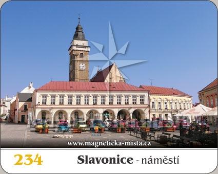Magnetka - Město Slavonice