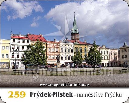 Magnetka - Frýdek-Místek (Náměstí ve Frýdku)
