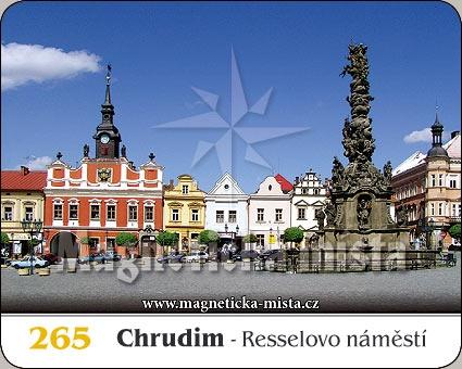 Magnetka - Chrudim - Resselovo náměstí