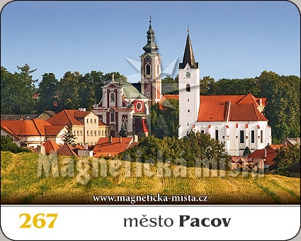 Magnetka - Město Pacov