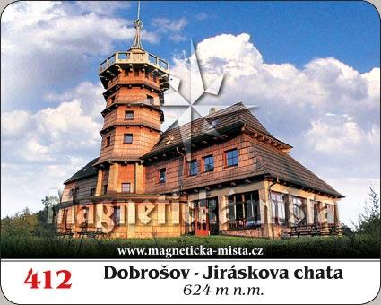Magnetka - Dobrošov - Jiráskova chata